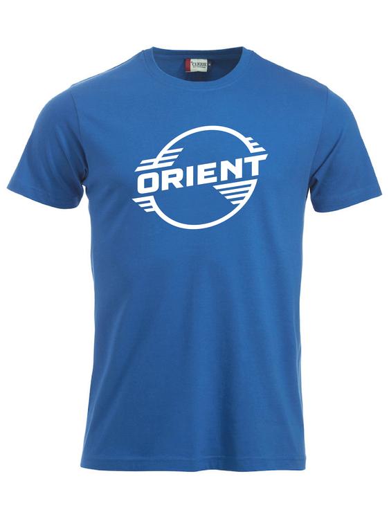 """Blå T-shirt Classic """"ORIENT"""""""