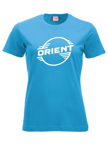"""Turkos Dam T-shirt Classic """"ORIENT"""""""