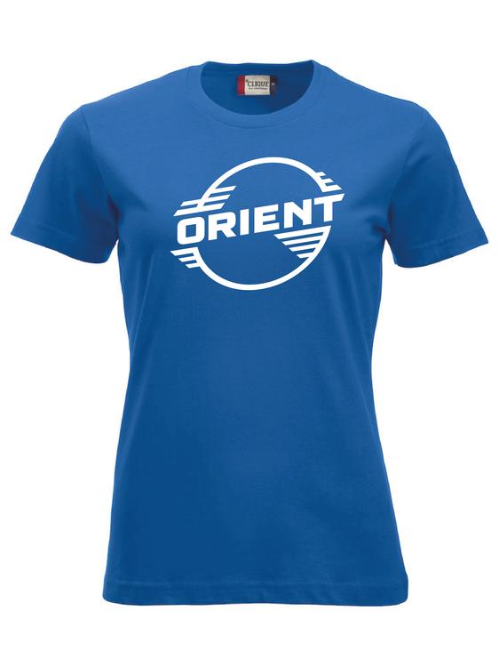 """Blå Dam T-shirt Classic """"ORIENT"""""""
