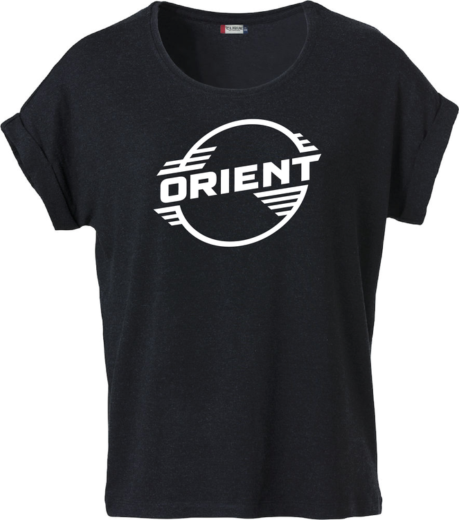 """Svart Dam T-shirt Katy """"ORIENT"""""""