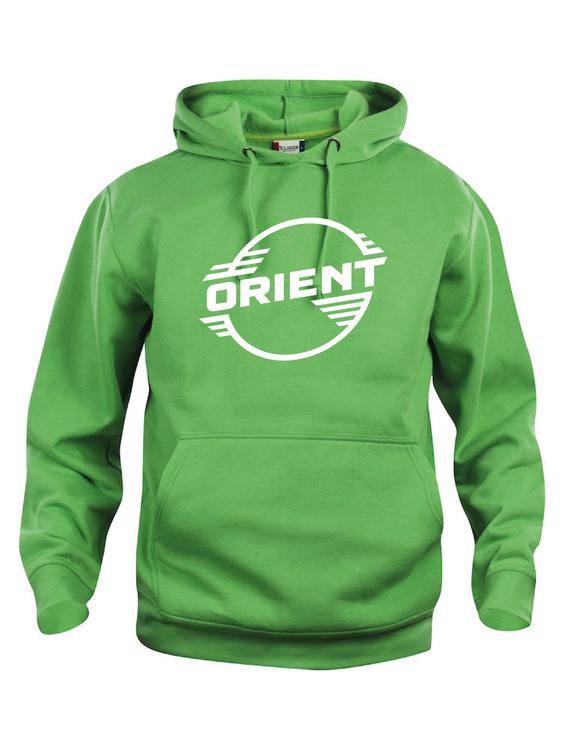 """Grön Hoodtröja Basic """"ORIENT"""""""