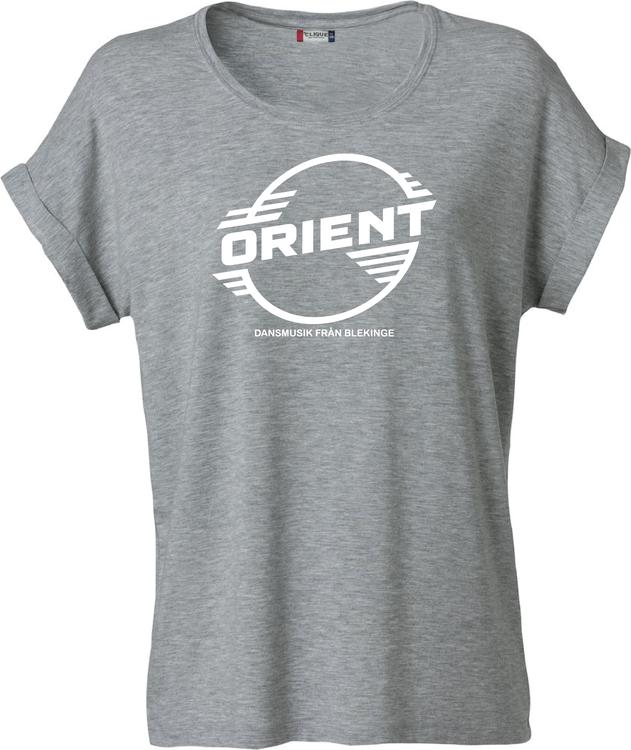 "Grå Dam T-shirt Katy ""ORIENT Blekinge"""