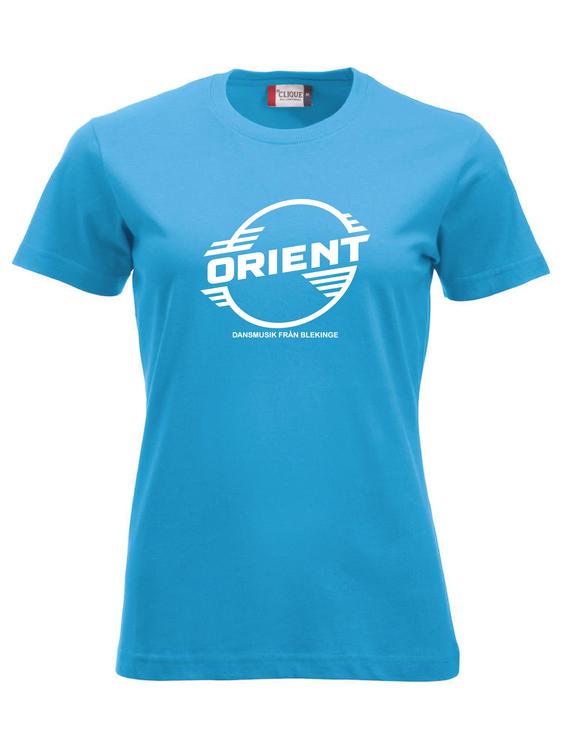"Turkos Dam T-shirt Classic ""ORIENT Blekinge"""