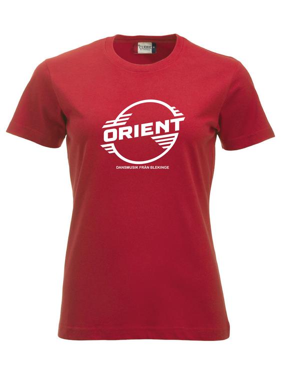 """Röd Dam T-shirt Classic """"ORIENT Blekinge"""""""