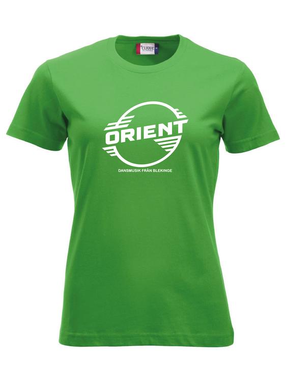 "Grön Dam T-shirt Classic ""ORIENT Blekinge"""