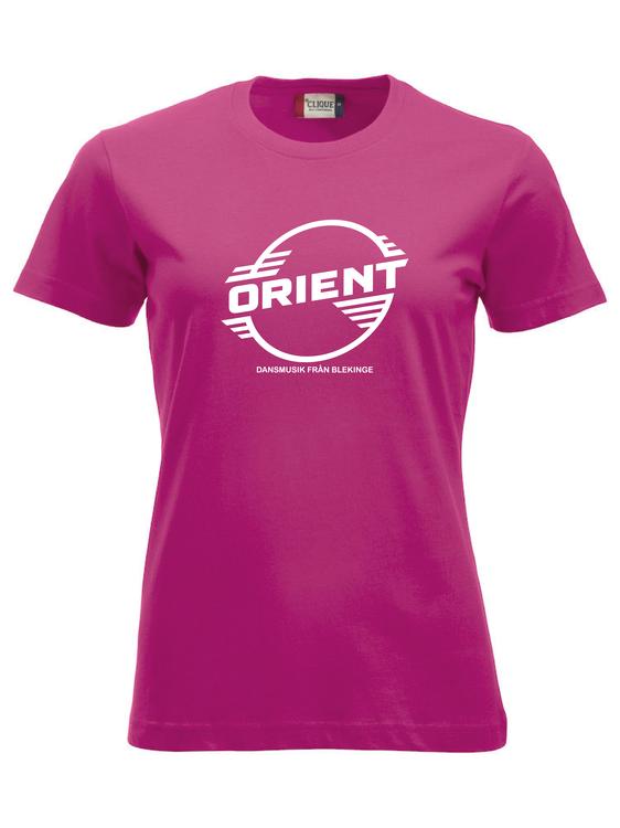 "Cerise Dam T-shirt Classic ""ORIENT Blekinge"""