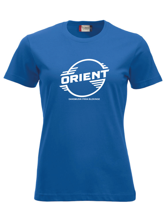"Blå Dam T-shirt Classic ""ORIENT Blekinge"""
