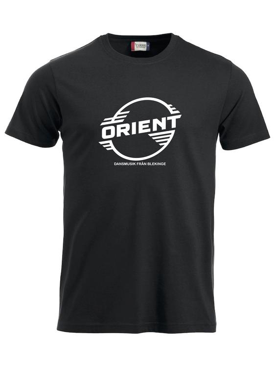 "Svart T-shirt Classic ""ORIENT Blekinge"""