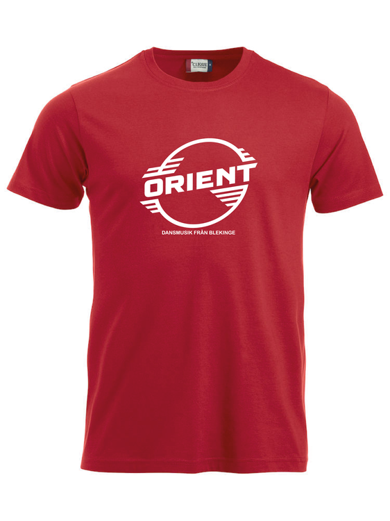 "Röd T-shirt Classic ""ORIENT Blekinge"""