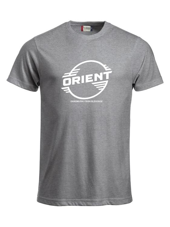 "Grå T-shirt Classic ""ORIENT Blekinge"""
