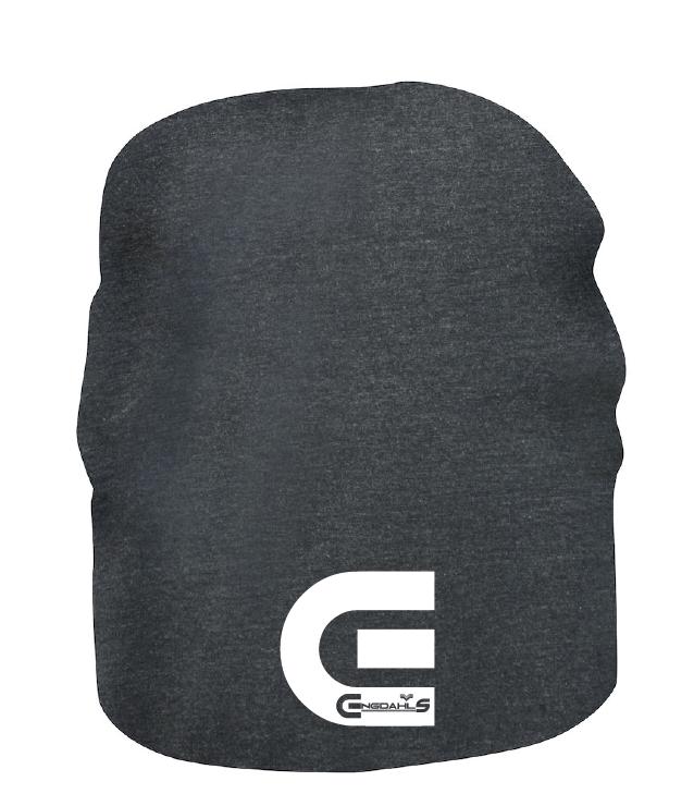 """Grå Mössa """"E-Logo"""""""