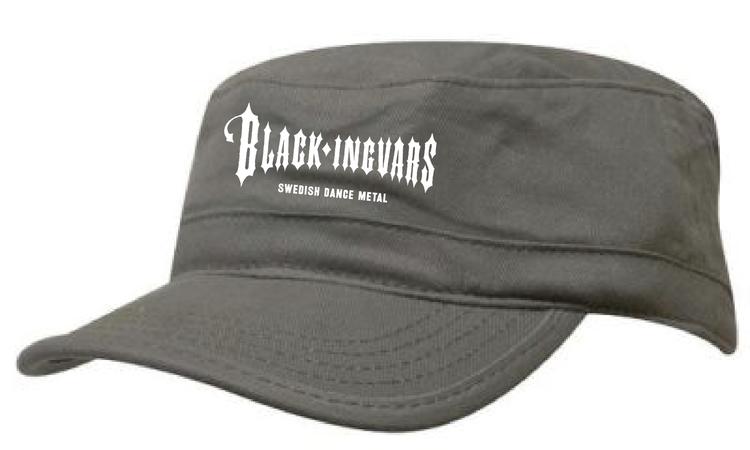 """Khaki Army Keps """"BLACK-INGVARS"""""""