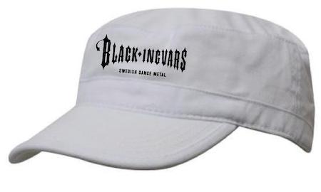 "Vit Army Keps ""BLACK-INGVARS"""