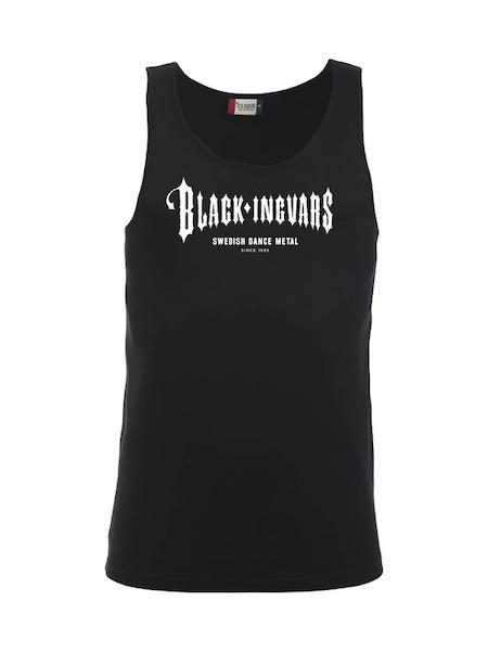 """Tank Top Svart """"BLACK-INGVARS"""""""