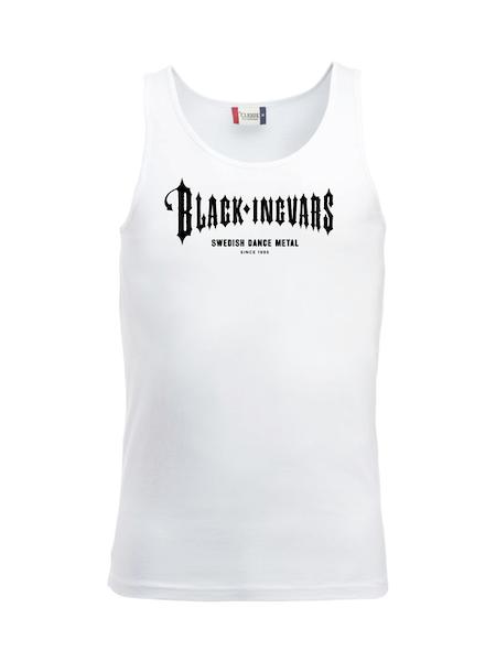 "Tank Top Vit ""BLACK-INGVARS"""
