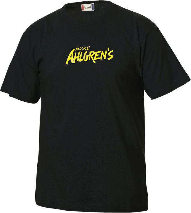 "Svart Junior T-shirt ""Micke Ahlgrens"""