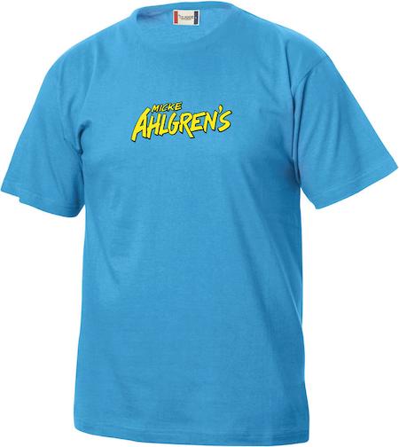 """Turkos Junior T-shirt """"Micke Ahlgrens"""""""