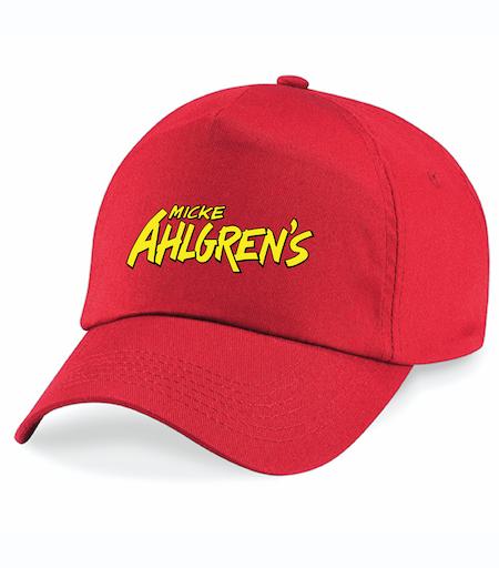 """Röd Keps """"Micke Ahlgrens"""""""