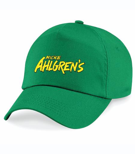 """Grön Keps """"Micke Ahlgrens"""""""