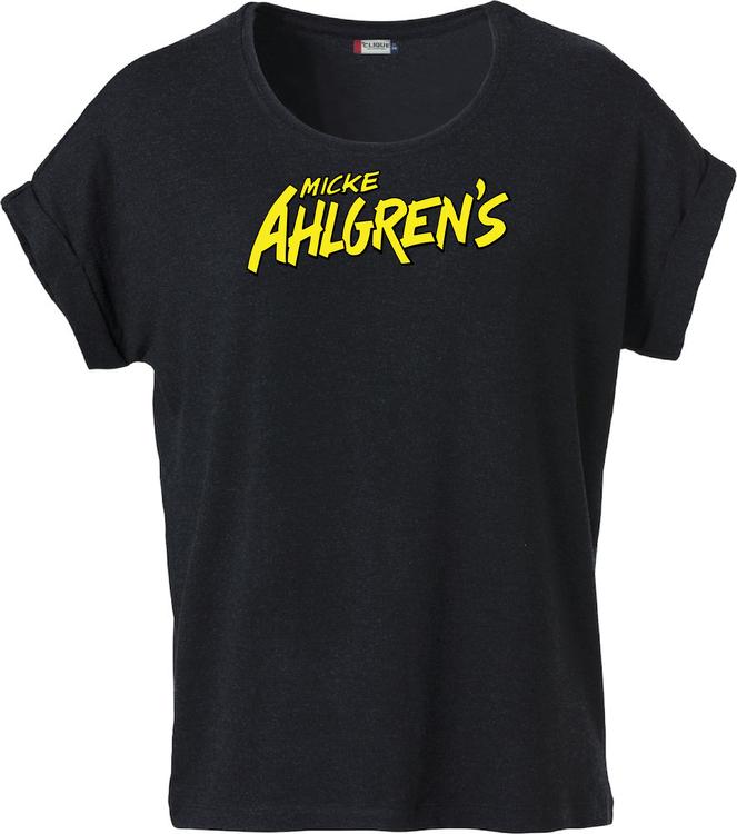 "Svart Dam T-shirt Katy ""Micke Ahlgrens"""