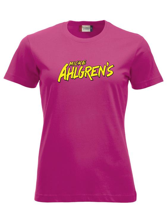 "Cerise Dam T-shirt ""Micke Ahlgrens"""