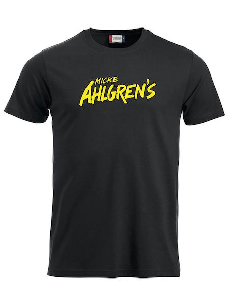 """Svart T-shirt """"Micke Ahlgrens"""""""