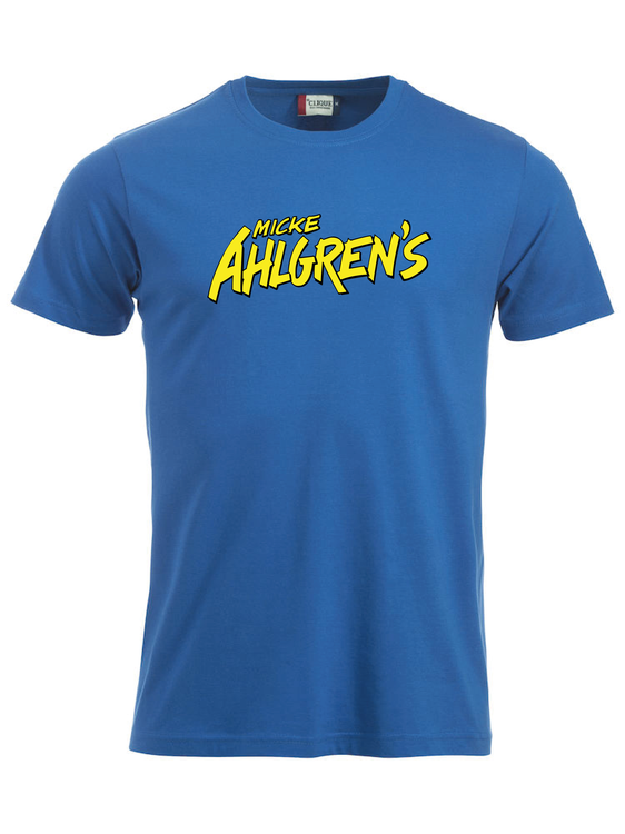 "Blå T-shirt ""Micke Ahlgrens"""