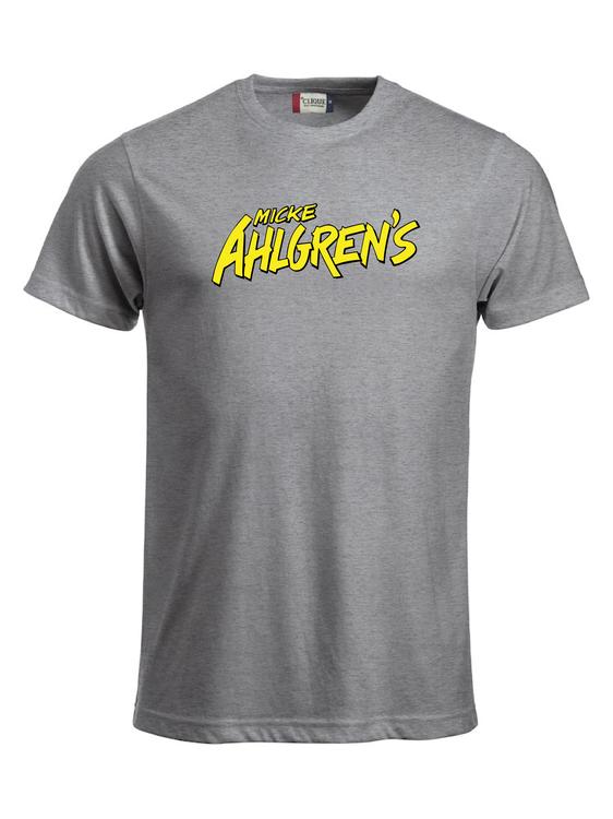 "Grå T-shirt ""Micke Ahlgrens"""