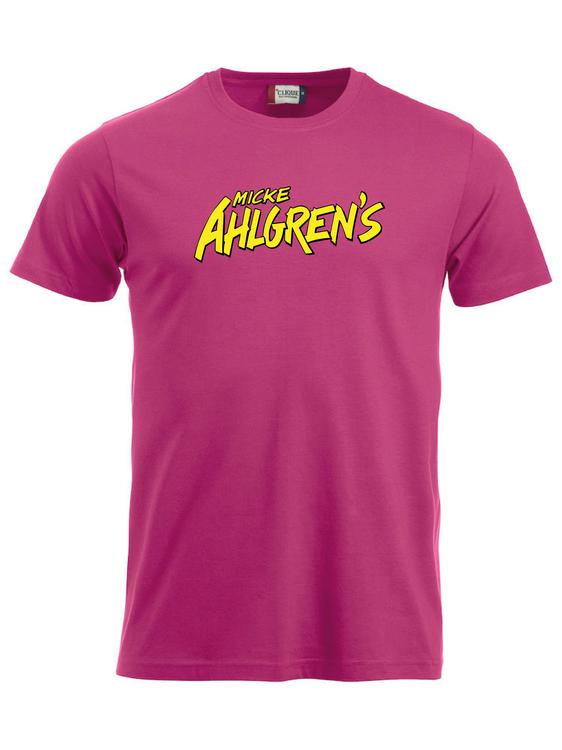 "Cerise T-shirt ""Micke Ahlgrens"""