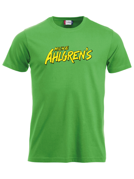 "Grön T-shirt ""Micke Ahlgrens"""