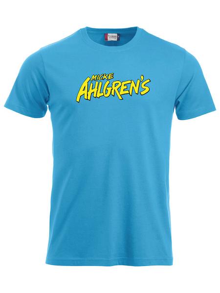 """Turkos T-shirt """"Micke Ahlgrens"""""""