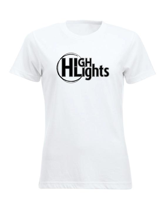 "Vit Dam T-shirt """"HIGHLIGHTS"""""