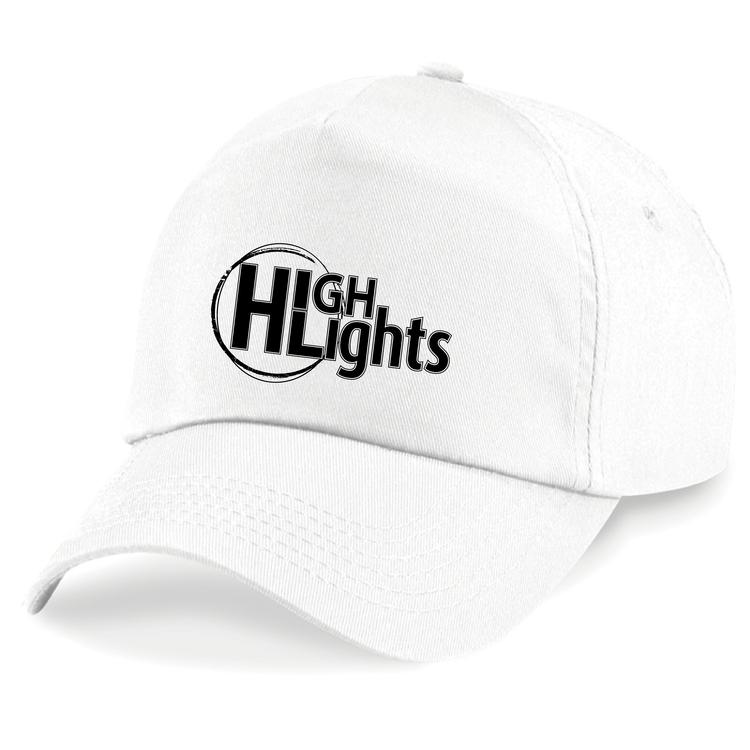 "Vit Keps ""HIGHLIGHTS Logo"""