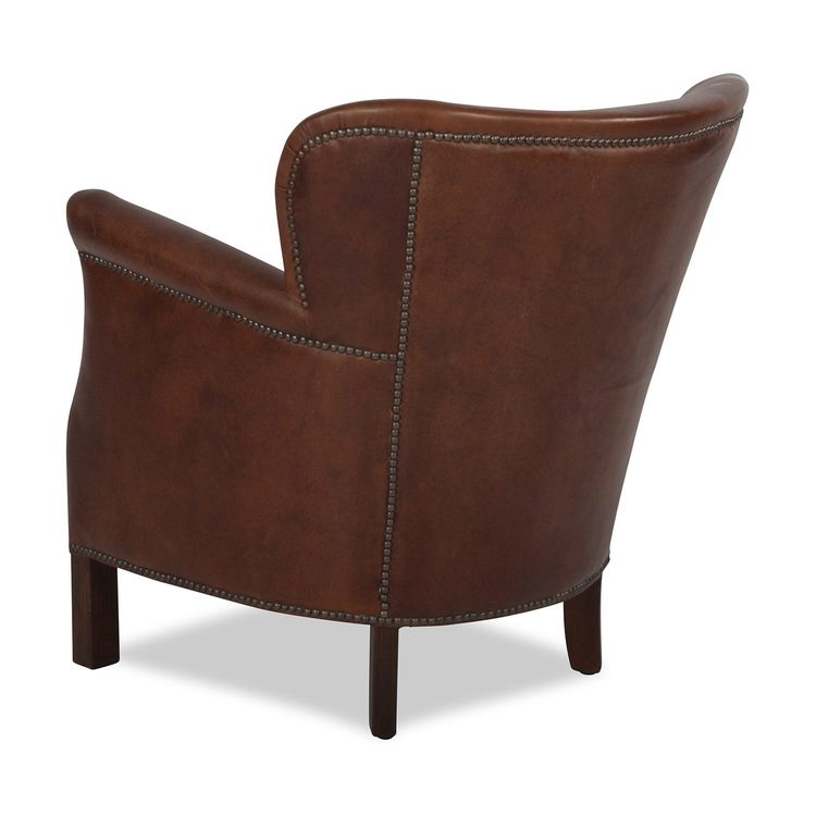 Artwood Professor vintage leather fåtölj