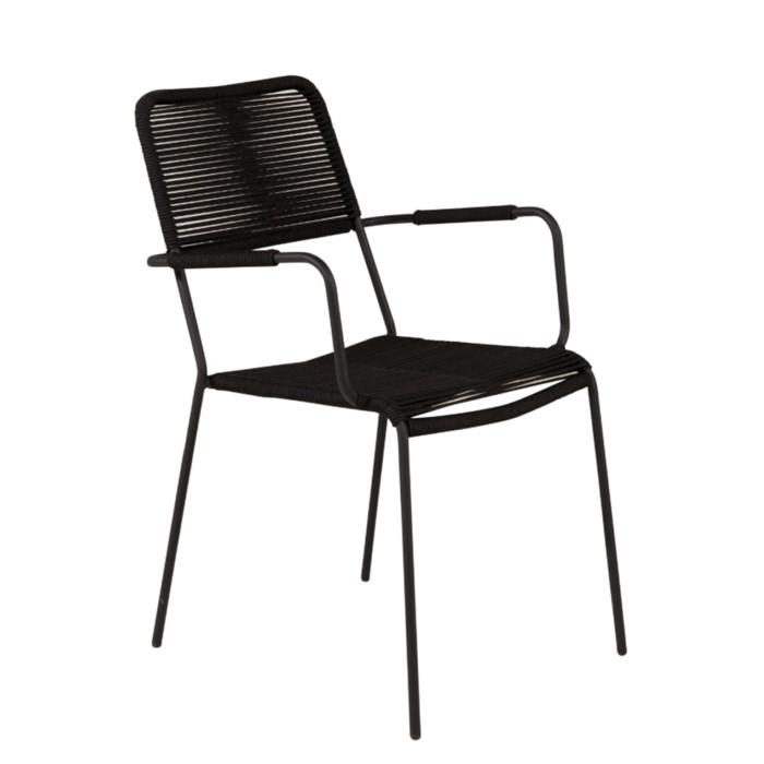 lindos-karmstol-svart