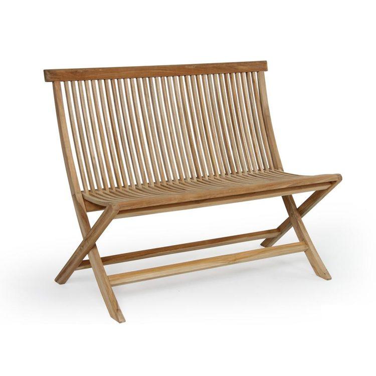 Turin 2-sits soffa teak