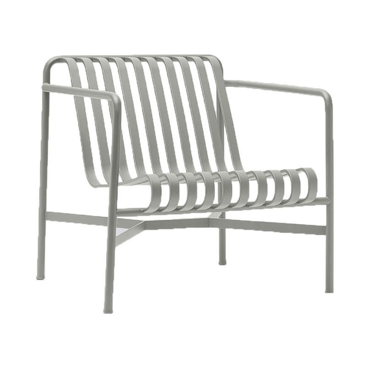 Palissade lounge chair sky grey