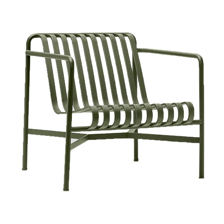Palissade lounge chair olive green