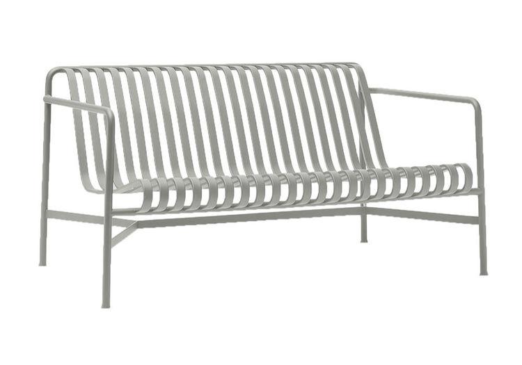 Palissade lounge sofa HAY sky grey