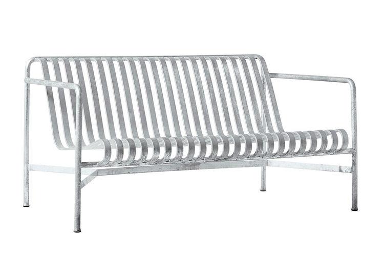 Palissade lounge sofa HAY galvanized