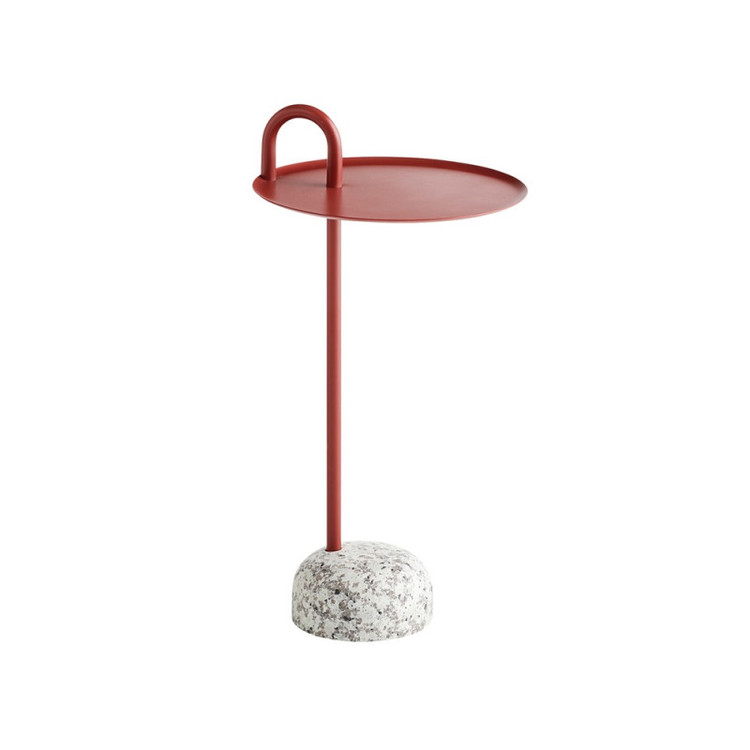 Bowler bord HAY tile red