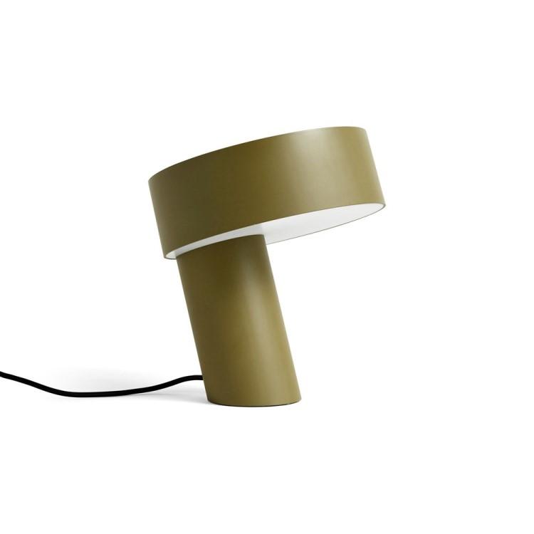 HAY Slant bordslampa khaki grön