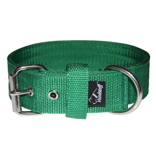 Active Green 4cm brett grönt hundhalsband