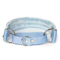 Baby blue martingale - halvstryp utan kedja
