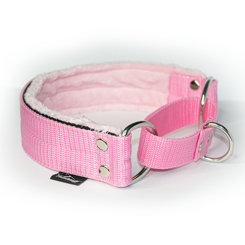 Baby pink martingale - half choke without chain