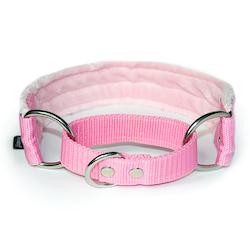Baby pink martingale - halvstryp utan kedja
