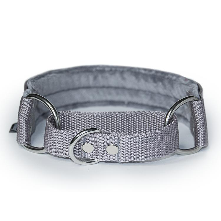 Grey martingale - grått halvstryp utan kedja