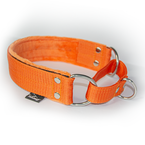 Orange martingale - half choke without chain