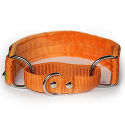 Orange martingale - halvstryp utan kedja