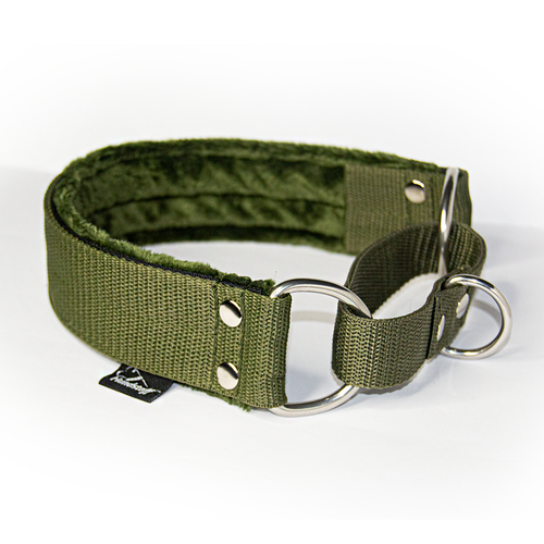 Khaki martingale - half choke without chain